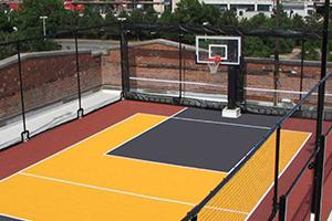 Clôture de protection pour terrain de sport