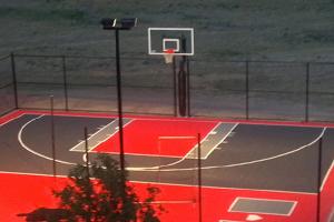 Spots d'éclairage pour terrains de sports