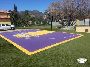 Terrain de Basketball - Réalisation (2) - Sol-Sportif