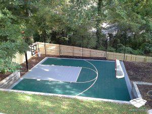 Terrain de Basketball - Réalisation (3) - Sol-Sportif