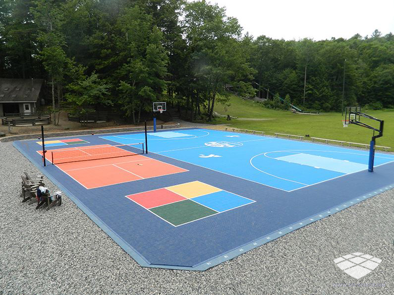 Terrain de sport : terrain multi-sport