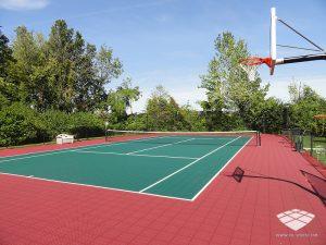 Terrain de Tennis - Réalisation (1) - Sol-Sportif
