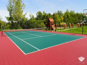 Terrain de Tennis - Réalisation (6) - Sol-Sportif