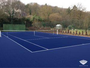 Terrain de Tennis - Réalisation (7) - Sol-Sportif