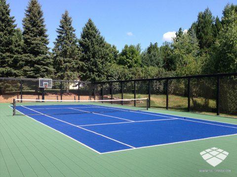 Terrain de Tennis - Réalisation (8) - Sol-Sportif