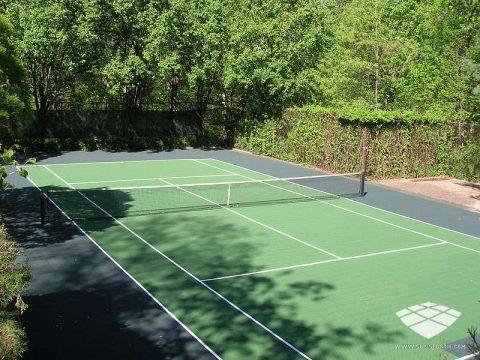 Terrain de Tennis - Réalisation (9) - Sol-Sportif