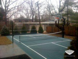 Terrain de Volleyball - Réalisation (2) - Sol-Sportif
