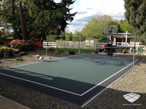 Terrain de Volleyball - Réalisation (4) - Sol-Sportif